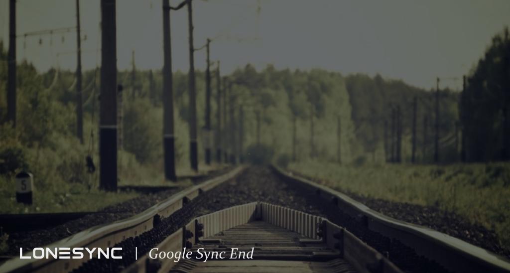 Google Sync End