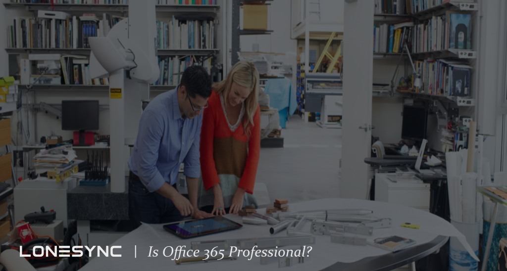 Is Office 365 Professional?