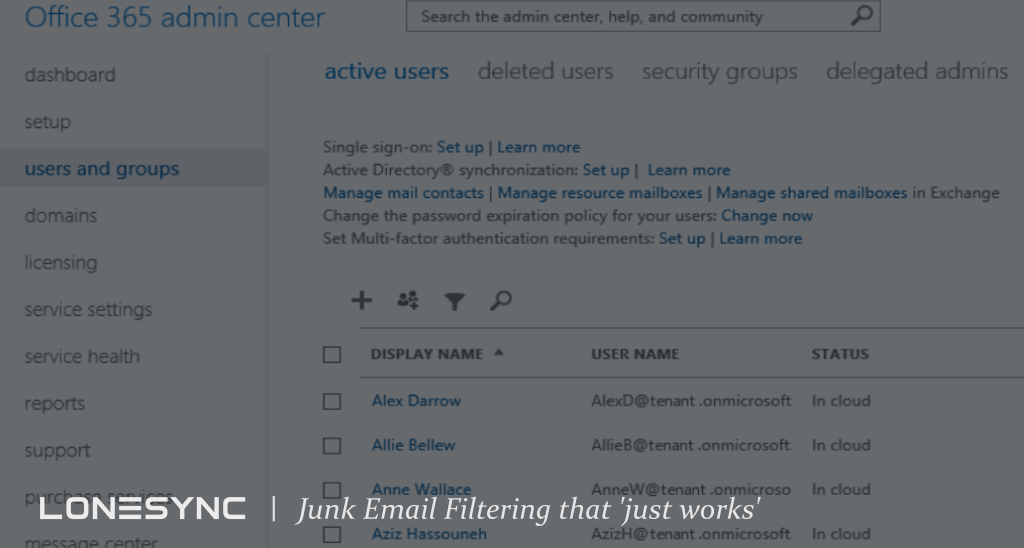 Junk Email Filtering that 'Just Works'