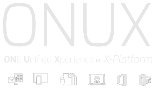 office 365 sync onux