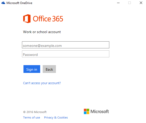 onux onedrive business office 365