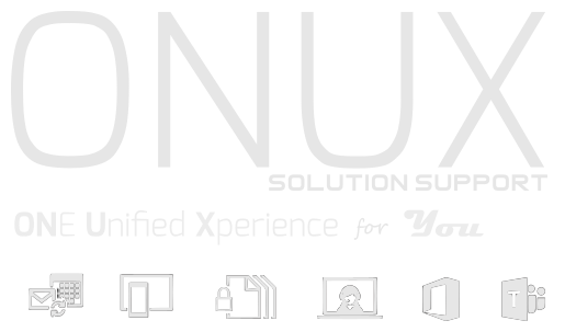 onux solution support