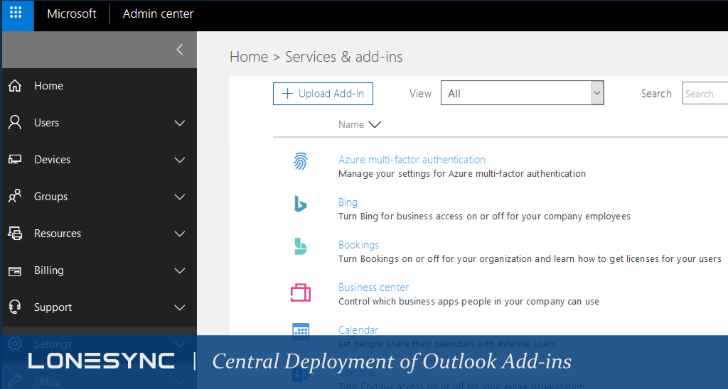 New Feature: Central Deployment of Outlook Add-ins