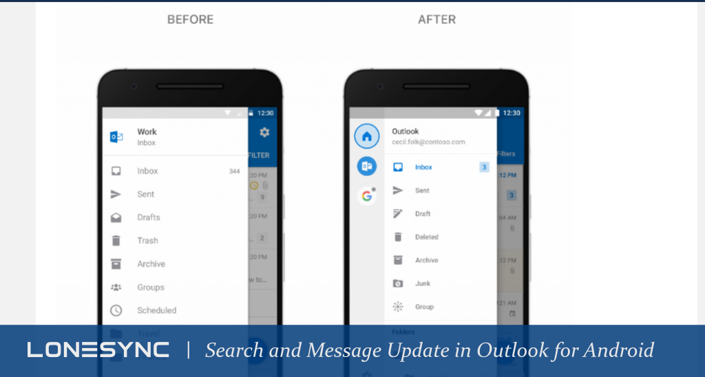 Feature Update: Search and Message Appearance Improvements in Outlook for Android
