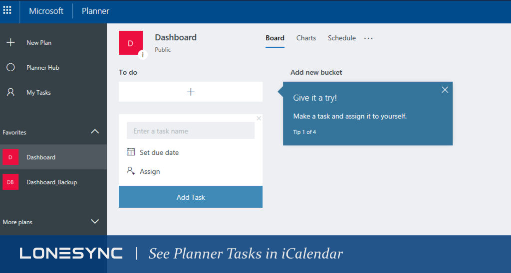 New Feature: See Planner Tasks in iCalendar
