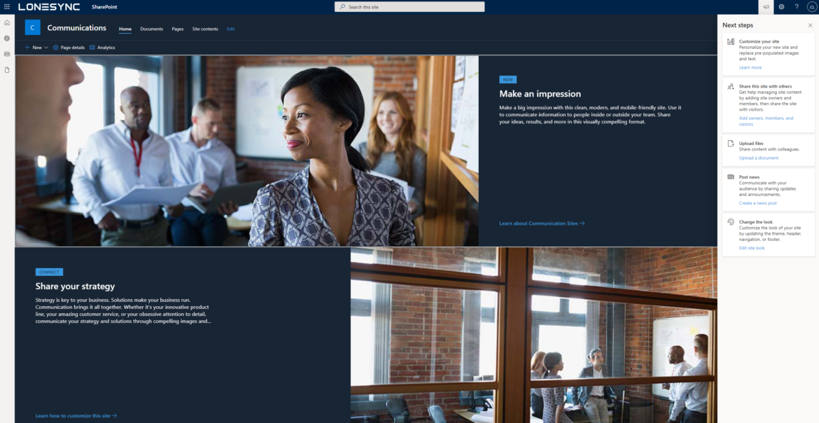 M365 Suite SharePoint Sites