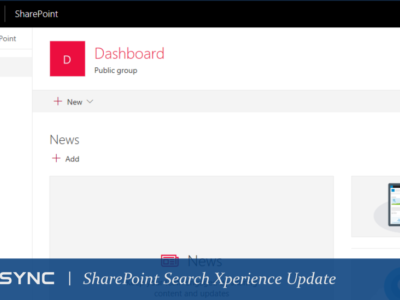 LoneSync SharePoint Search Xperience Update