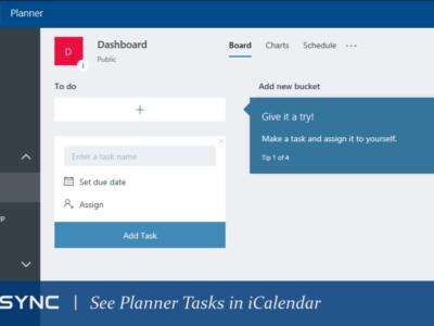 See Planner Task in iCalendar format