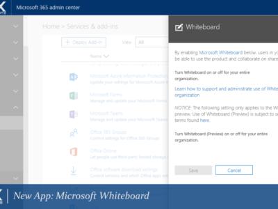 ONUX Suite Microsoft Whiteboard